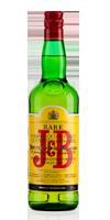 Botella de Whisky J&B