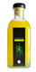 Botella de Licor verdelimón
