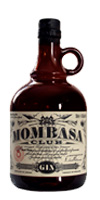 Botella de ginebra Mombasa